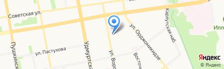 Дом Плюс на карте Ижевска