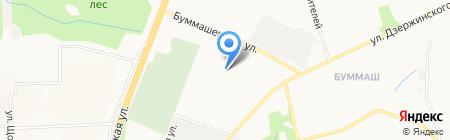 Мезонин на карте Ижевска