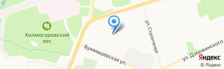 Авто Трасса на карте Ижевска