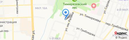 Специальный отряд быстрого реагирования МВД по Удмуртской Республике на карте Ижевска