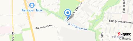 Двигатель-1 на карте Ижевска