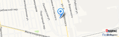 Авис на карте Ижевска