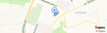 ИжСпецКомплект на карте Ижевска
