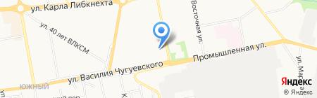 Киоск по продаже хлебобулочных и кондитерских изделий на карте Ижевска