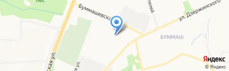 Металлмастер на карте Ижевска