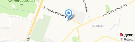 Амкор на карте Ижевска