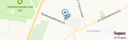 Уралочка на карте Ижевска
