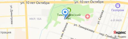 Редуктор на карте Ижевска
