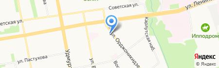 Алина на карте Ижевска