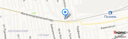 Газмастер на карте Ижевска