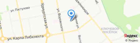 Детский сад №138 на карте Ижевска