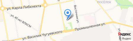 Детский сад №79 на карте Ижевска