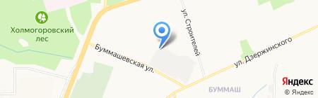 Ижевский авторемонтный завод на карте Ижевска