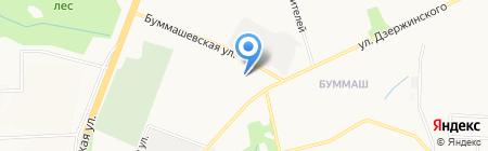 РусТрансСнаб на карте Ижевска