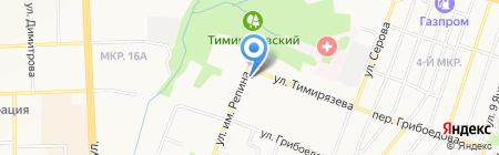 Грация на карте Ижевска