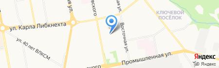 Инь-Ян на карте Ижевска