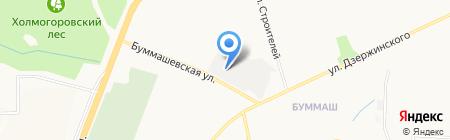 ЛакМа на карте Ижевска