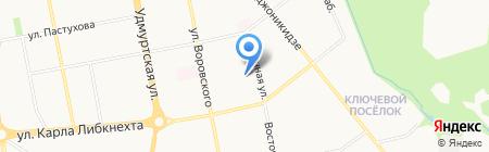 АГЗС-сеть на карте Ижевска