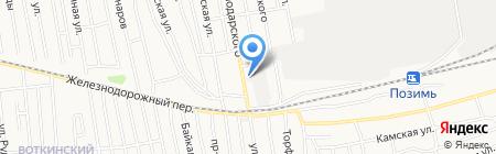 ИжПромСервис на карте Ижевска