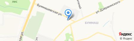 Зардон-Дом на карте Ижевска