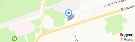 Hyundai КОМОС-Авто на карте Ижевска