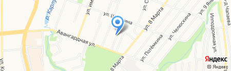 Продактив на карте Ижевска