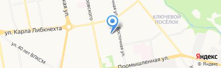 Библиотека №24 на карте Ижевска