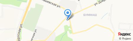 Людмила на карте Ижевска