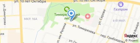 Детский сад №255 на карте Ижевска