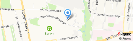 Гарант-Сервис Ижевск на карте Ижевска