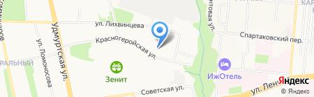 Дельта на карте Ижевска