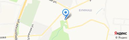 Уральский Альянс на карте Ижевска