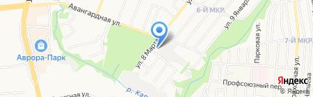 Isuzu на карте Ижевска