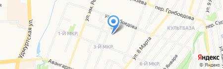 Английский Professional на карте Ижевска