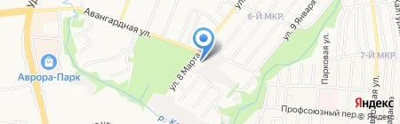 СВС на карте Ижевска