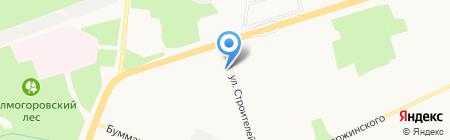 Интеравто на карте Ижевска