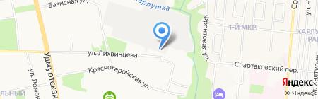 Just the Club на карте Ижевска
