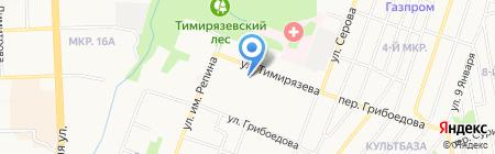 Средняя общеобразовательная школа №84 с углубленным изучением отдельных предметов на карте Ижевска