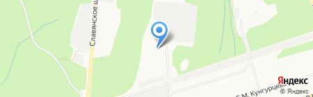 Центральная на карте Ижевска