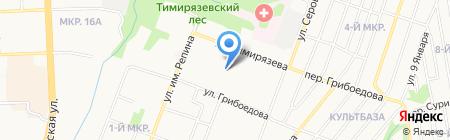 Ижсинтез на карте Ижевска