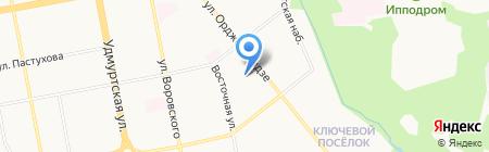 Почтовое отделение №63 на карте Ижевска
