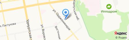 Общинный центр еврейской культуры на карте Ижевска