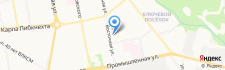 Accent dance на карте Ижевска