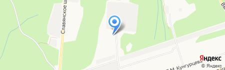 ИжСтройМонолит на карте Ижевска