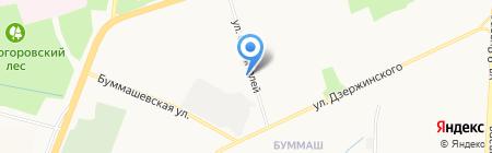 Отдел образования по Индустриальному району Управления образования Администрации г. Ижевска на карте Ижевска