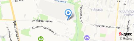Следственное Управление Следственного комитета России по Удмуртской Республике на карте Ижевска