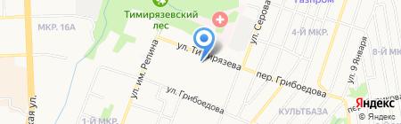 Детский сад №279 на карте Ижевска