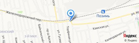 Глобус-Авто на карте Ижевска