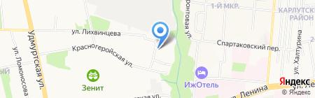 Бокс 2 на карте Ижевска