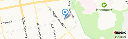 Ваш психолог на карте Ижевска